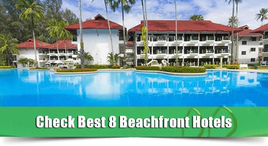 Beachfront hotel bang tao