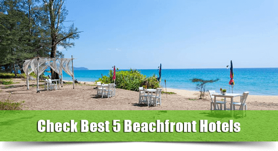 Beachfront hotel mai-khao