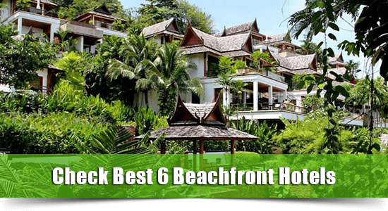 Beachfront hotel surin