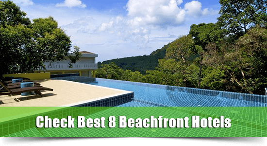 Beachfront hotel kamala