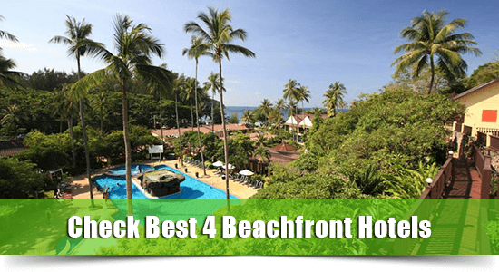 Beachfront hotel nai harn