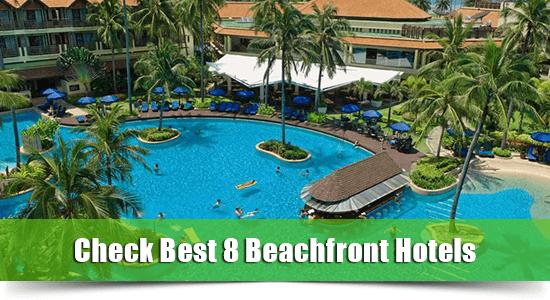 Beachfront hotel patong