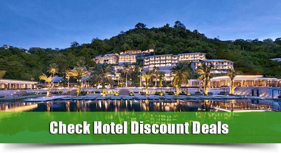 Beachfront hotel kamala