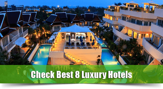 luxury hotels karon