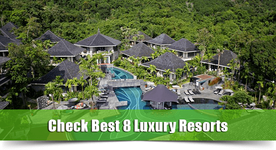 luxury resort karon