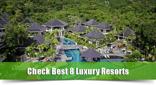 luxury resort karon